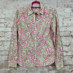 Lilly Pulitzer 10 Anna Maria Top